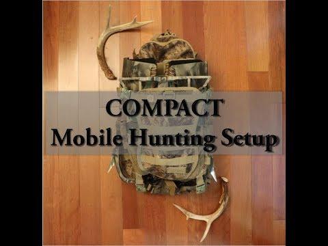 CLIMBING SPURS // Compact Mobile Saddle Hunting Setup