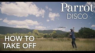 Parrot DISCO - Tutorial #3 - Take Off