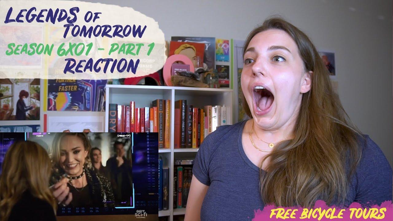 "Download Legends of Tomorrow Season 6 Episode 1 ""Ground Control to Sara Lance"" REACTION Part 1"