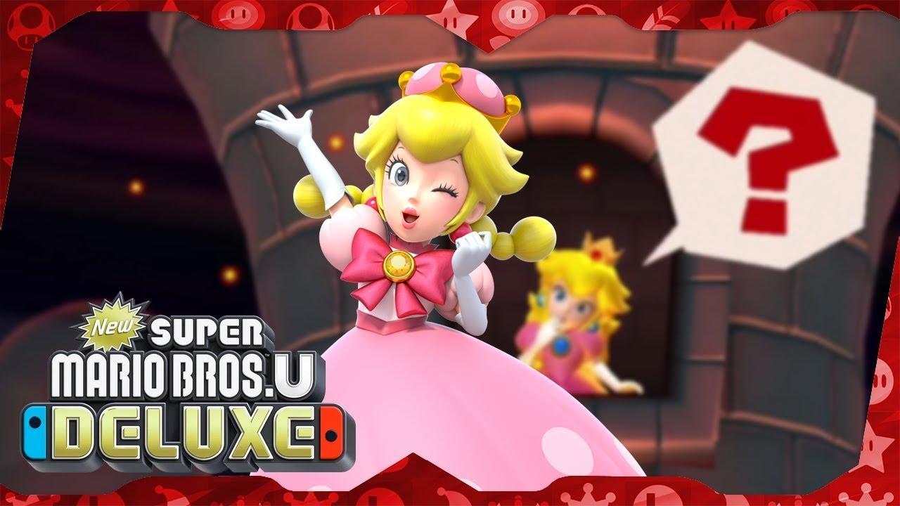 New Super Mario Bros. U Deluxe ᴴᴰ (2019) Full Playthrough (Warps, Solo Toadette)