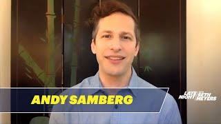 Andy Samberg Puts Seth in the Hot Seat