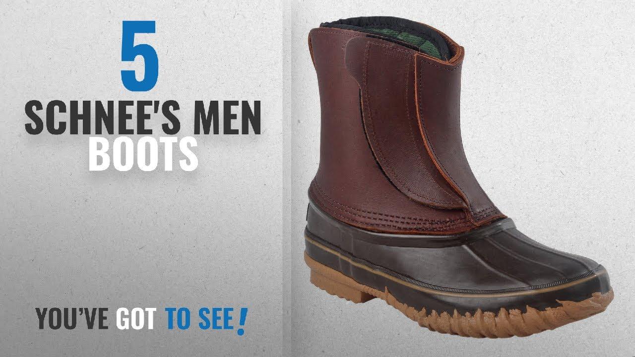 7c80ce5844a Top 10 Schnee'S Men Boots [ Winter 2018 ]: SCHNEE'S Montana II T/T Winter  Chore Pac Boots-Brown-12