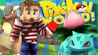 SHINY MEGAS? - PIXELMON WORLD! #2 (Minecraft Pokemon Mod)