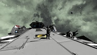 Путешествие в глубинах космоса... (Space Engineers)