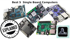 Top 5 Single Board Computers (Credit Card Sized || Smallest || Cheapest)
