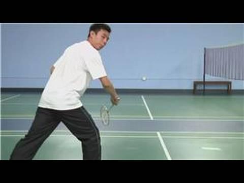 Badminton How To Backhand Swing In Badminton Youtube