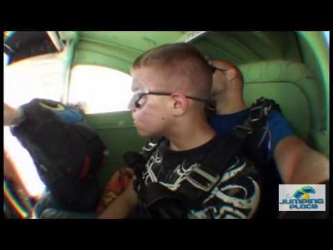 Richard Bailey Tandem Skydive over Jacksonville, Fl