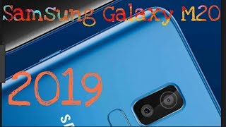 SAMSUNG GALAXY M20 OFFICIAL SPECIFICATIONS / PRICE