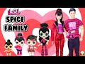 Gambar cover SPICE FAMILY DIY Custom  Fun Craft With Barbie and Ken LOL Families Cupcake Kids Club