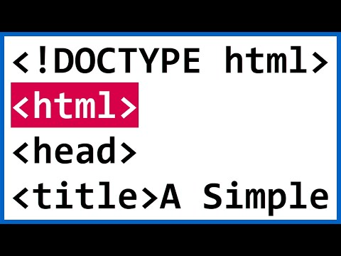 HTML Introduction: How To Code A Simple Web Page