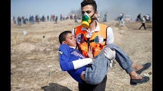 Protests turn to funerals in Gaza, From YouTubeVideos