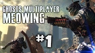 Call of Duty Ghosts Multiplayer Meowing Part 1 - Search and Rescue