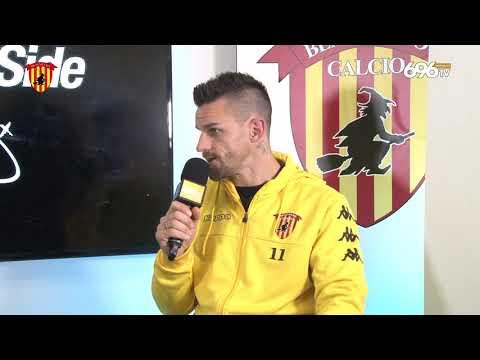 #BeneventoPisa: Christian Maggio in Mixed Zone