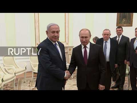 Russia: Netanyahu Thanks Putin For Moscow's Role In Recovery Of Israeli Soldier Killed In 1982