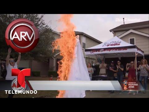Se divorció y festejó quemando su vestido de novia | Al Rojo Vivo | Telemundo