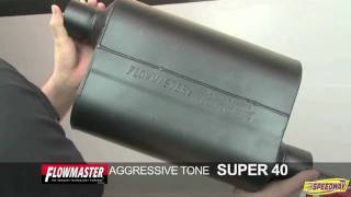 Flowmaster Super 40 Series Muffler Sound Test