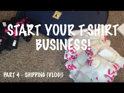 How To Start Your T-Shirt Business - Part 4 (VLOG!)
