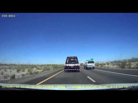A drive from Scottsdale, AZ to San Diego, CA
