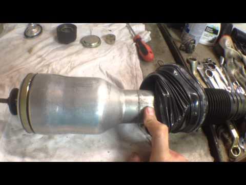 mercedes-benz s320 w220 Задняя пневмостойка
