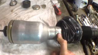 mercedes-benz s320 w220 Задняя пневмостойка(, 2015-08-02T18:39:01.000Z)