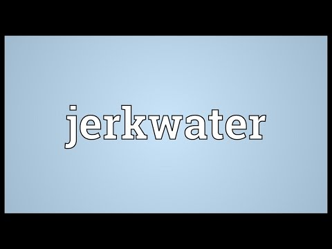 Header of jerkwater