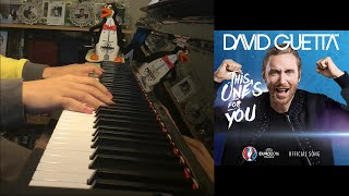 Baixar - David Guetta Ft Zara Larsson This One S For You Piano Cover By Amosdoll Grátis