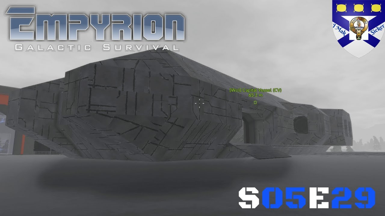 empyrion galactic survival  s05  -ep 29  u0026quot  cv  arctic wolf finishing up u0026quot