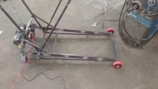 Custom Winch Powered Mower Lift