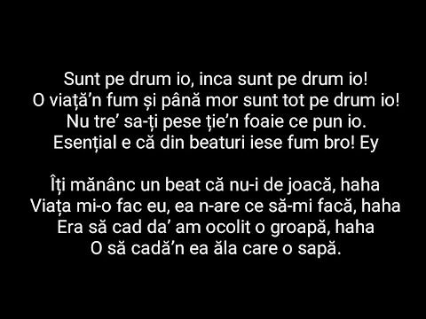Amuly & PRNY - Pe Drum feat. Killa Fonic (VERSURI LYRICS)