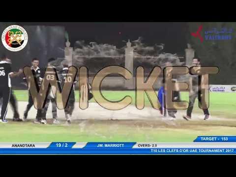 Anandatara VS JW Marriott | T10 LES CLEFS D'OR UAE Tournament 2017