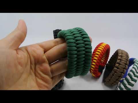 Custom Logo Paracord Bracelets- Paracord Bracelets Maker For Survival