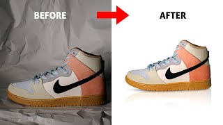 How to Edit E-Commerce Product Photos for eBay, Amazon | Photoshop Tutorial screenshot 3