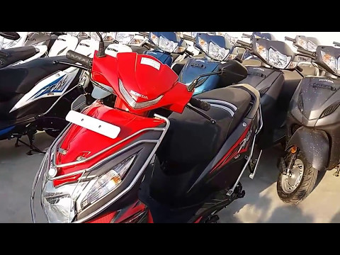 Honda Dio  New Colours | Yellow, Orange, Red, Grey, Blue