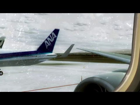 PMDG Cathay Pacific 777 from Kansai Osaka to Hong Kong Full Flight