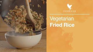 Healthy Vegetarian Fried Rice | Forever Living UK & Ireland