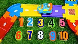 Smart Wheel City: Number Hunt! VTech Go! Go! Smart Wheels Counting Game
