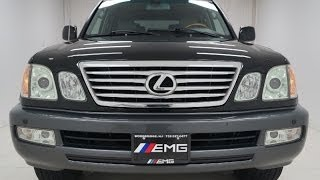 2007 Lexus LX 470 Vehicle Overview