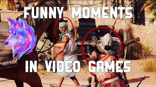 Funny moments in video games (When I play)