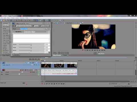 ● Sony Vegas | From Color to Black & White