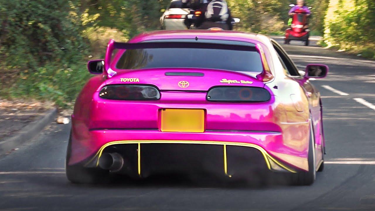 Carros modificados saindo de uma feira automóvel - jogadores 2019 [parte 2] + vídeo