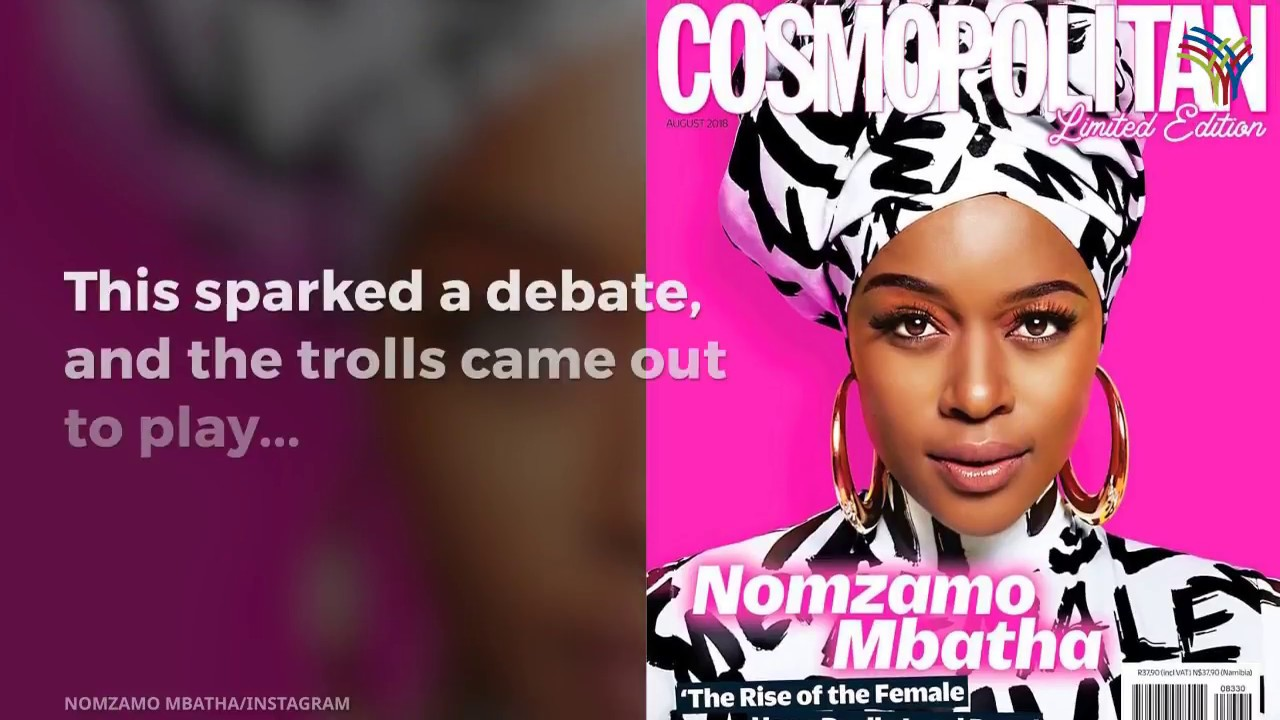 Social Media Divided Over Nomzamo's Activism Title