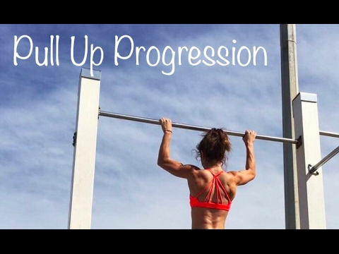 Pull Up Progression: How to Get Your FIRST PULL UP!