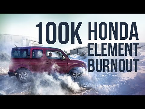 100,000 Subscribers - AWD Honda Element Burnout