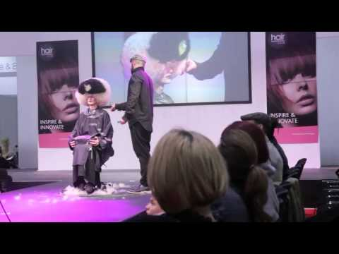 Allilon Education on stage at Hair Pro Live 2015 - 22 - 23 February 2015