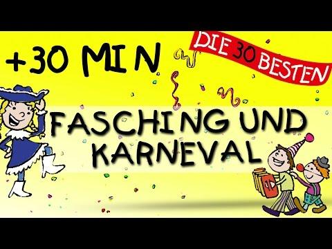 Kinderlieder Mix für Fasching und Karneval
