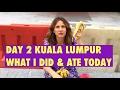 DAY 2 KUALA LUMPUR || WHAT I ATE & DID AS A RAW VEGAN