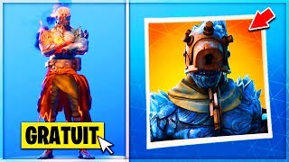 "🔴 I DEBLOQUE the SKIN FREE ""BIG FROID"" finally DISPONIBLE on Fortnite!"