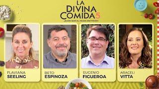 La Divina Comida - Flaviana Seeling, Beto Espinoza, Araceli Vitta y Eugenio Figueroa