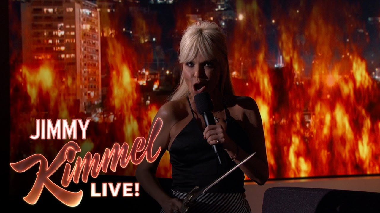 Kristin Chenoweth Sings Game Of Thrones Theme Song On Jimmy Kimmel Hollywood Reporter