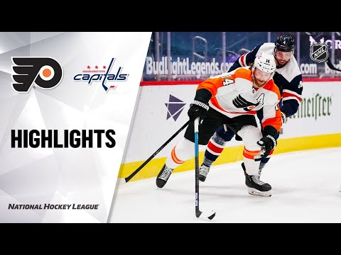 Flyers @ Capitals 2/7/21 | NHL Highlights